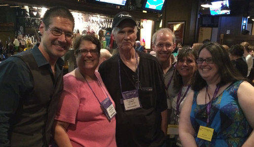 Friends at Texas Library Association Conference