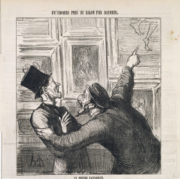 Art by Honore Daumier, Guest Group Critiques