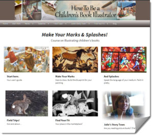 Make Your Marks & Splashes homepage image