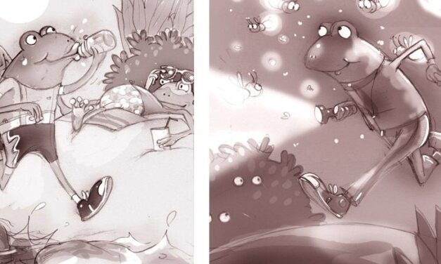 One action filled storyboard