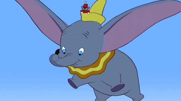 The baby elephant who helped a cartoon studio to fly