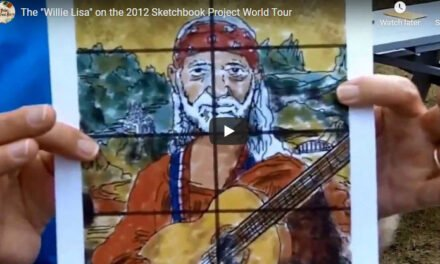 World touring sketchbooks