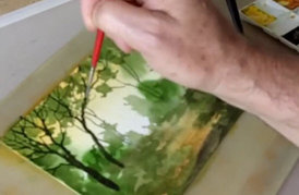 'Charging' up your watercolor