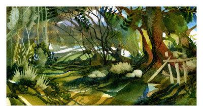 John Salmon watercolor