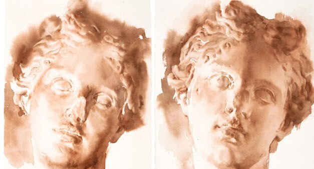Watercolor Wednesday – Paper as light: Wendy Artin