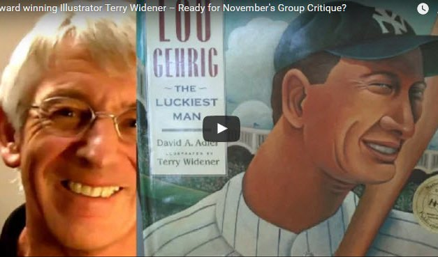 Award-winning children's illustrator Terry Widener critiques Wednesday