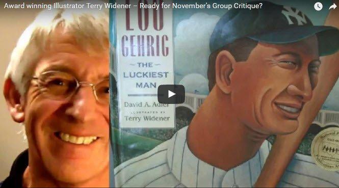 Award-winning children's illustrator Terry Widener critiques Wednesday