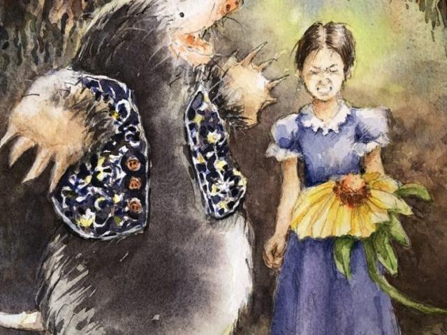 Thumbelina and Mole